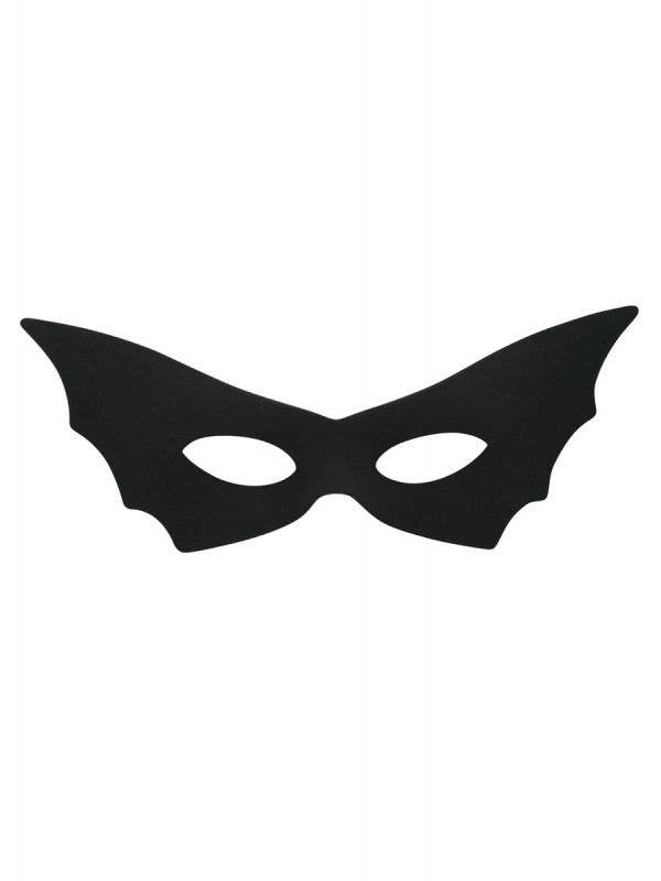 Women's Black Bat Costume Masquerade Eye Mask