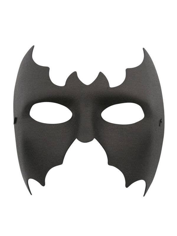 Basic Men's Black Wet Look Batman Costume Mask