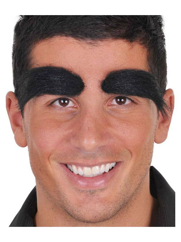 Black Bushy Costume Eyebrows Black Bushy Groucho Eyebrows