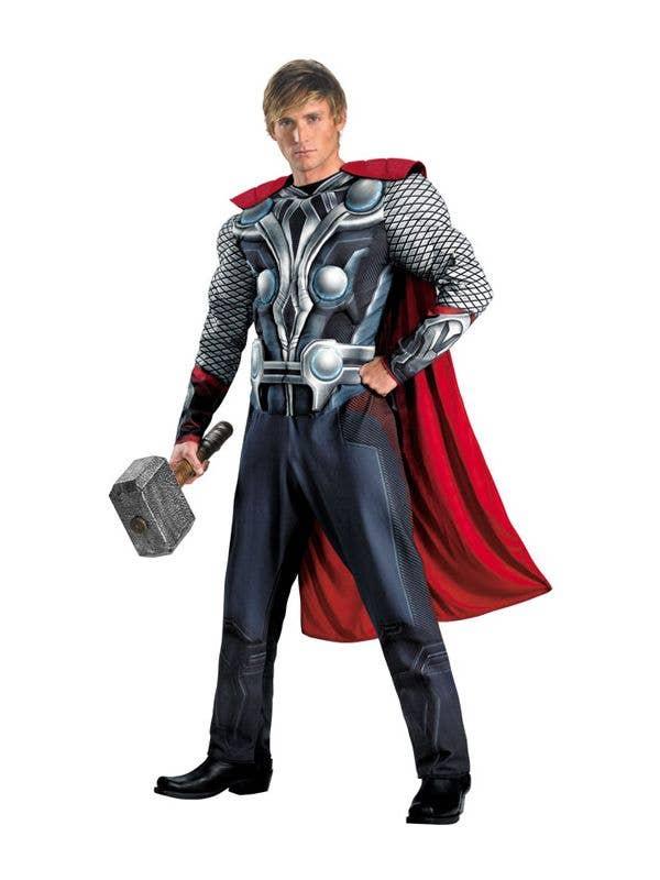 Thor Men's Costume | Avengers Superhero Thor Fancy Dress