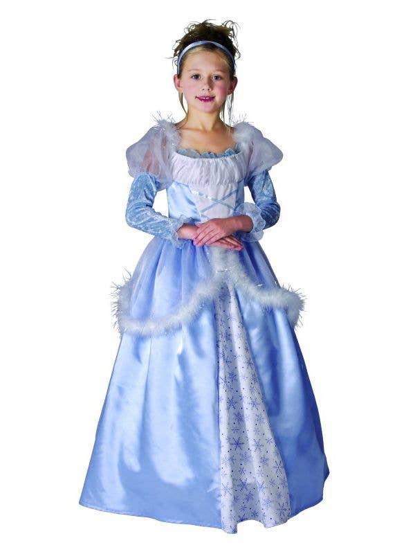 Girl's Cinderella Fancy Dress Costume