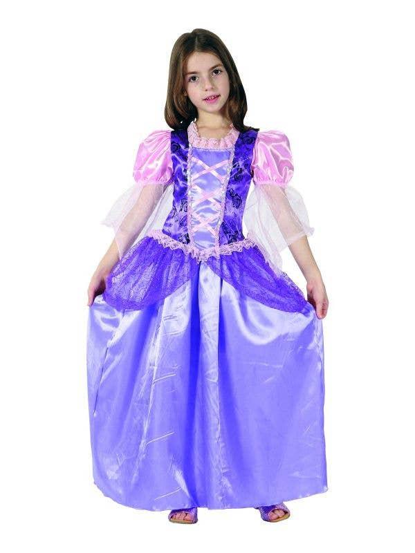 Girl's Rapunzel Purple Book Week Costume - New