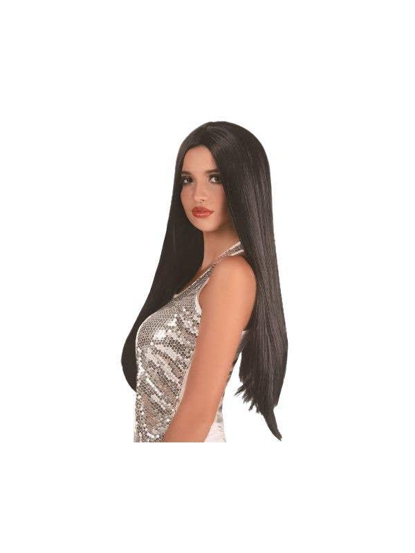 Women s Long Straight Black Wig  8fc8de0f4c