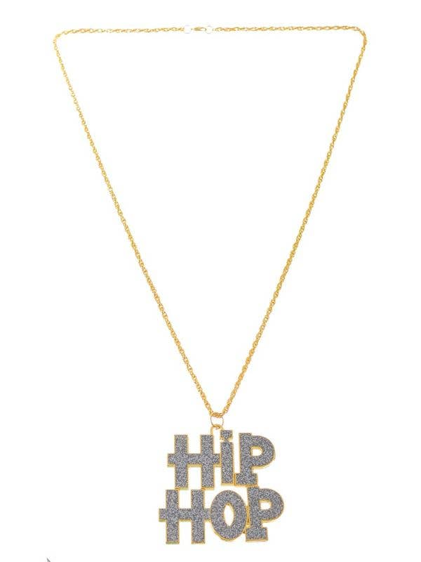 Gold and Silver Metal Hip-Hop Chain Costume Accessory Necklace - Main Image