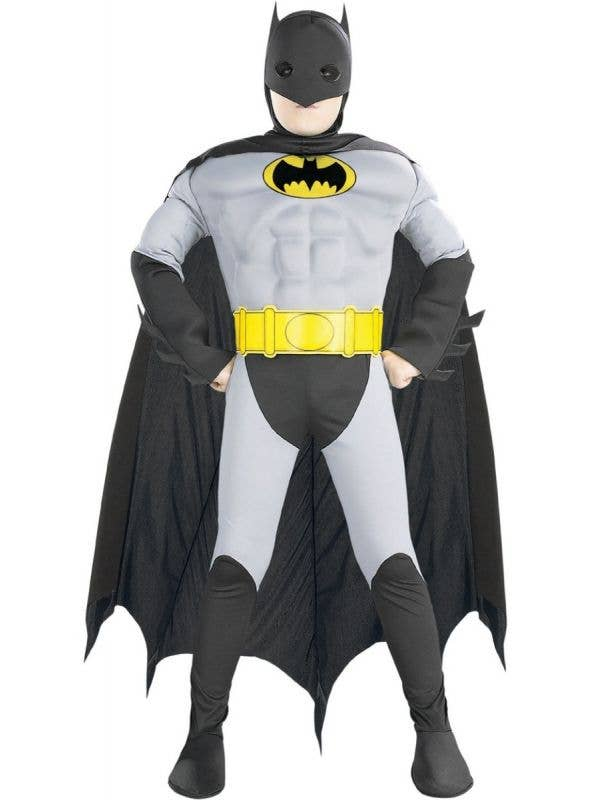 Boys Bat Hero Super Hero Batman Dress Up Costume Main Image