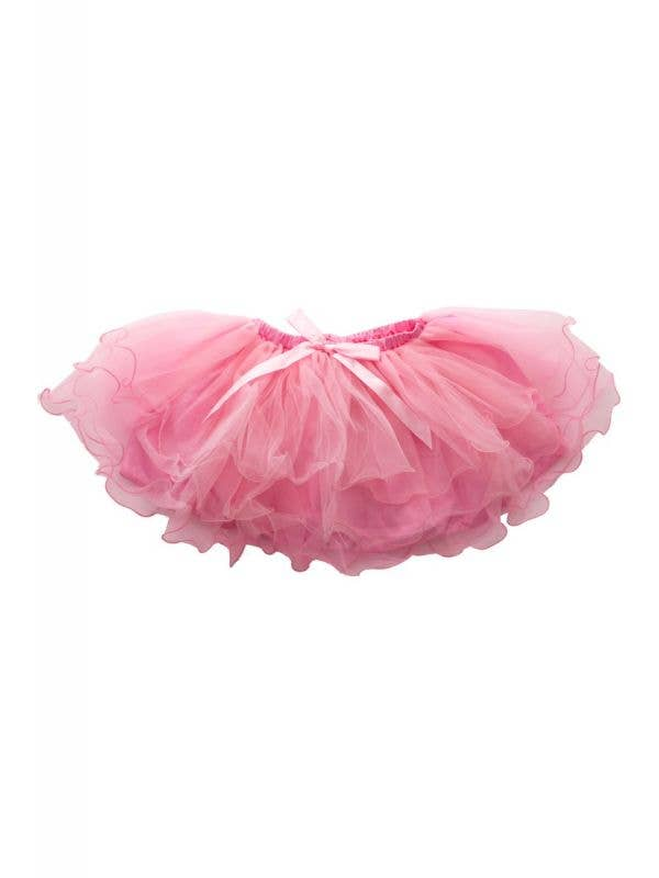 Girl's Fluffy 3 Layered Light Pink Petticoat Costume Tutu