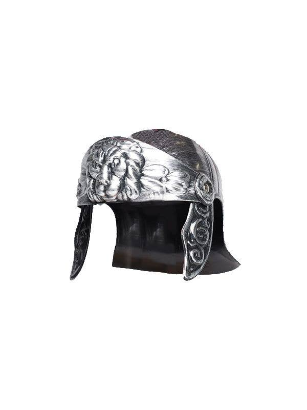 Silver Roman Helmet Costume Accessory