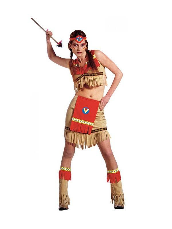 2b1deb9725cf Ray Of Moonlight Sexy Indian Costume | Sexy Native American Costume