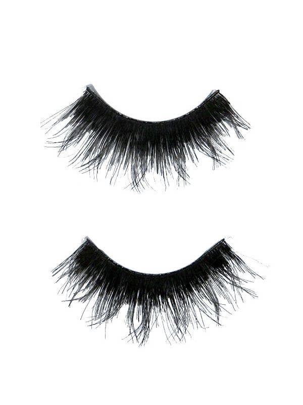 c0cea2625b8 Human Hair False Eyelashes   Black Feathered False Eyelashes