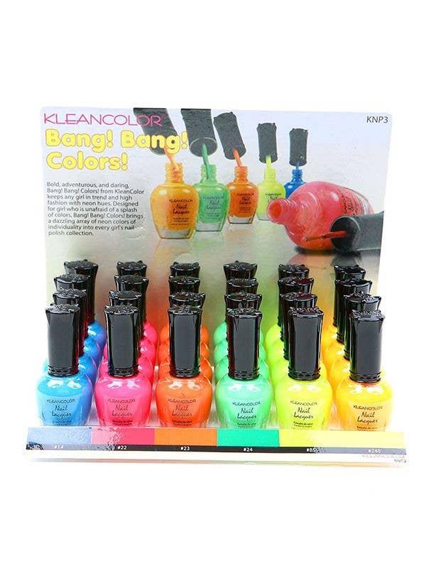 Neon Nail Polish | Fluro Nail Polish by KleanColor