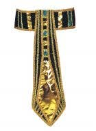 Gold Cleopatra Costume Accessory Belt Front View