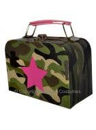 Camouflage Army Handbag Costume Accessory
