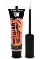 Peach Paradise UV Reactive Blacklight Glitter Eyeliner Main Image