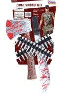 Zombie Hunter Costume Weapon Kit