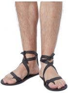 Strappy Men's Roman Dress Up Costume Sandals
