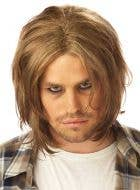 Grunge Mens 90's Costume Wig