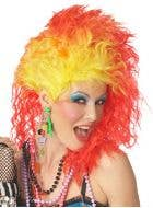 True Colours Women's 80's Wig
