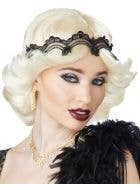 Blonde Flick Women's Gatsby Girl Flapper 1920's Costume Wig