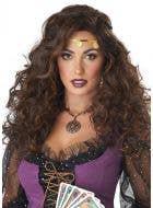 Mystified Women's Brunette Fortune Teller Costume Wig