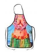 Hawaiian Babe Funny Adults Printed Costume Apron