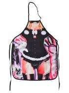 Bunny Girl Funny Adults Printed Costume Apron