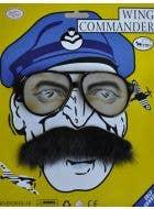 Wing Commander Glasses and Moustache Set