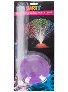 Purple Base Party Disco Fibre Optic Light Decoration
