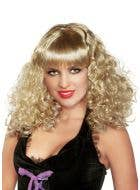 70's Disco Star Blonde Costume Wig