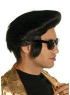 King of Rock Black Pompadour Costume Wig