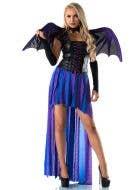 Midnight Flight Mistress Women's Halloween Costume
