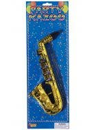 Saxophone Kazoo Gold Novelty Musical Instrument Accessory