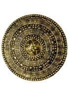 Roman Gladiator Gold Shield Costume Accessory