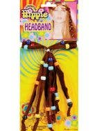Beaded 70's Generation Hippie Headband