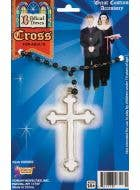 Rosary Beads With Cross Necklace