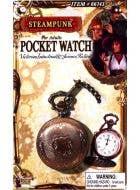 Steampunk Deluxe Brass Look Pocket Watch