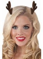 Reindeer Antlers Mini Christmas Hair Clips