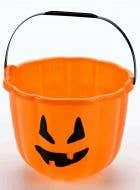 Pumpkin Face Large Halloween Candy Bucket