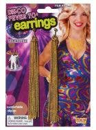 Disco Fever 70's Costume Earrings