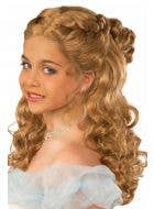 Happily Ever After Brown Curly Girls Princess Wig