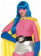 Superhero Pink Long Sleeve Women's Costume Top