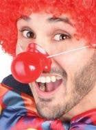 Novelty Adults Red Squeaking Clown Nose