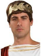 Roman Golden Wreath Headband Costume Accessory