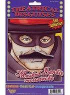 Masked Bandit Costume Moustache