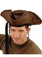 Buccaneer Bounty Pirate Hat Costume Accessory