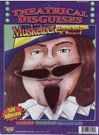 Musketeer Beard and Moustache Set