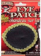 See Through Pirate Eye Patch Costume Accessory
