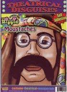 Generation Hippie Black 70's Moustache