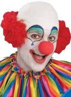 Bald Head Top Men's Clown Wig
