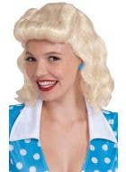 Retro Women's 1940's Wig - Blonde