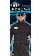 SWAT Utility Belt Costume Accessory